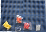 Organizer <i>Genie</i>™ - Organize your Sockets, Wrenches, Pliers, Screwdrivers, Bits and All Other Tools with 76 piece Pegboards, Holders and Clips
